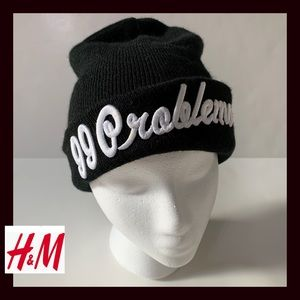 H&M Black knit Hat